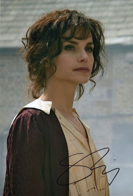 Charlotte Riley, Peaky Blinders, signed 12x8 inch photo.(2)